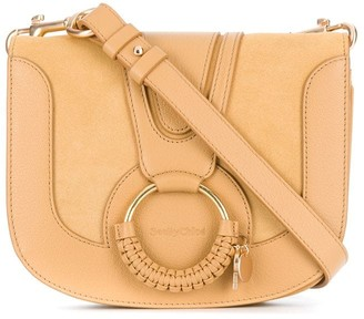 See by Chloe Woven Ring Cross Body Bag