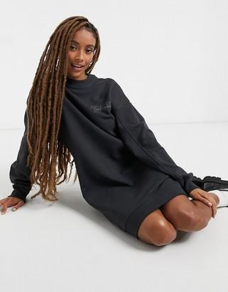 Dr. Denim Lowe sweatshirt dress in black