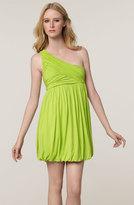 One Shoulder Jersey Dress