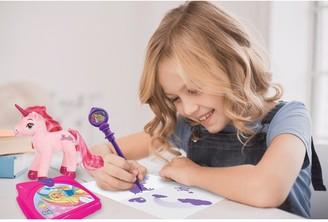 Barbie Electronic Secret Diary And Unicorn Plush Gift Set