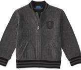 Ralph Lauren Cotton Terry Baseball Jacket
