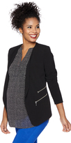 Motherhood Cascade Bi-stretch Suiting Maternity Jacket