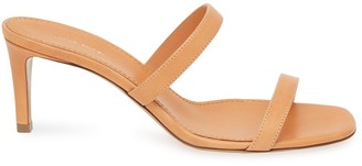 Mansur Gavriel Vegetable Tanned Fino Sandal - Cammello