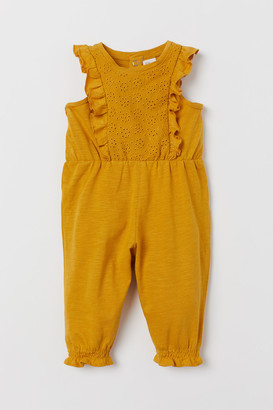 H&M Eyelet Embroidery Jumpsuit