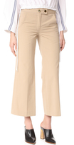 Derek Lam Button Tab Pants