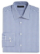 The Men's Store At Bloomingdale's The Men's Store at Bloomingdale's Gingham Dobby Regular Fit Dress Shirt - 100% Exclusive
