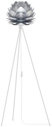 "Vita Copenhagen Silvia 53"" Tripod Floor Lamp, White/Steel"