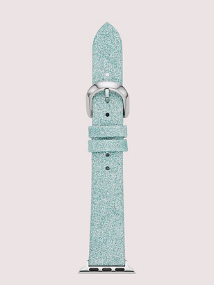 Kate Spade Mermaid Glitter Leather 38/40Mm Band For Apple Watch