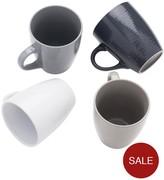 Sabichi Set Of 4 Textured Mugs