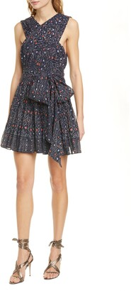 Ulla Johnson Arisa Spot Print Minidress