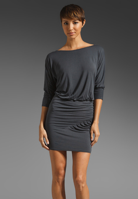 krisa Ruched BF Mini Dress