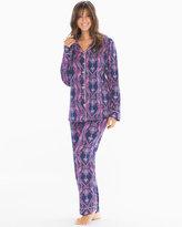 Soma Intimates BedHead Knit Cotton-Blend Pajama Set