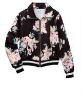 Love, Fire Floral Track Jacket (Big Girls)