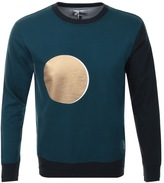 Vivienne Westwood Sun And Moon Sweatshirt Blue