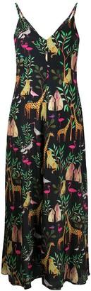 Tonello Fantasy print dress