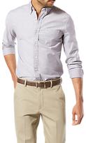 Dockers Long Sleeve Stretch Oxford Shirt, Pembroke