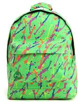 Mi-Pac Splattered Rucksack/ Casual Daypack 17 Litres, Neon Green 740309-002