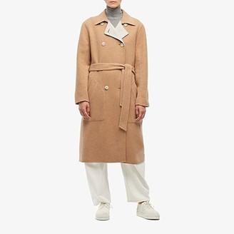 Rag & Bone Rach Reversible Coat (Tan) Women's Clothing