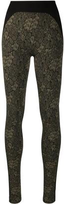 Wolford Andrea floral print leggings