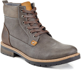 Gray Quilt Ankle Boot - Men