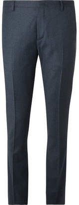 Paul Smith Slim-Fit Wool And Cashmere-Blend Flannel Trousers