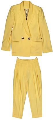 Petar Petrov Yellow Wool Jackets