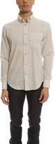 Naked & Famous Denim Regular Shirt Organic Cotton Heather Air Twill