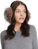 Surell Fox Fur Earmuffs