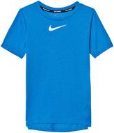 Nike Blue Tailwind Dry Tee