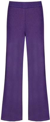 Cecilia Prado Ionara glitter metallic trousers
