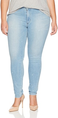 James Jeans Women's Plus Size Skinny Leggy Jean in Culture Shock 30W