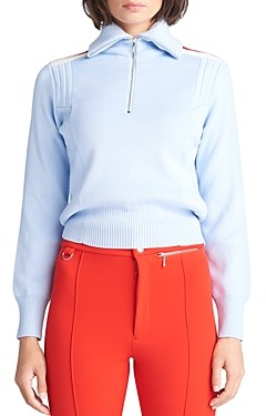 Cordova Merino Wool Half-Zip Racing Sweater