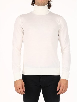 Dolce & Gabbana White wool sweater