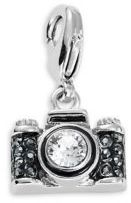 Karl Lagerfeld Camera Crystal Charm