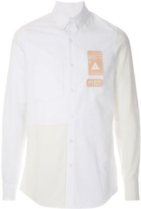 Piet Logo Patchwork Shirt