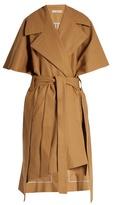 Palmer Harding PALMER//HARDING Tie-waist wool poncho coat