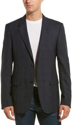 Lanvin Evolution Wool Suit Jacket