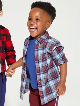 M&Co Check shirt (9mths-5yrs)