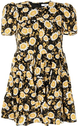 LIKELY River floral-print cotton dress