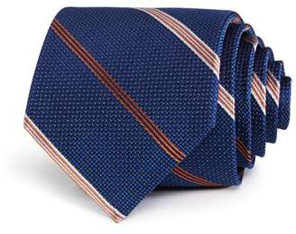 Bloomingdale's The Men's Store at Textured Dot Stripe Classic Tie - 100% Exclusive