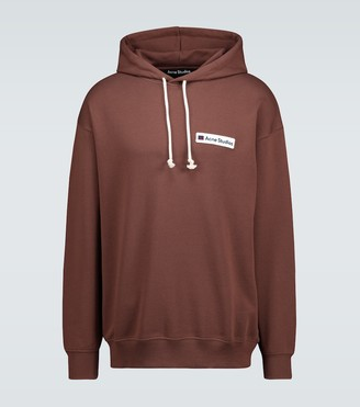 Acne Studios Farrin Face hooded sweatshirt