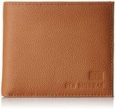 Ben Sherman Men's Embossed Logo Wallet