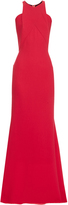 Roland Mouret Highclare wool-crepe gown