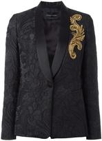Christian Pellizzari embellished detail blazer