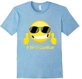 Birthday Emoji Shirt For Boys