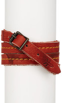 Frye Campus Wrap Leather Cuff