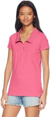 U.S. Polo Assn. Women's Short Sleeve Solid Polo Shirt