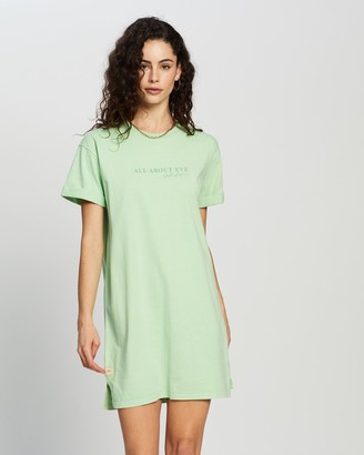 All About Eve Washed Tee Dress