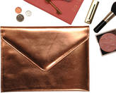 Undercover Metallic Leather Clutch Bag