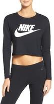 Nike Women's Sportswear Graphic Crop Tee